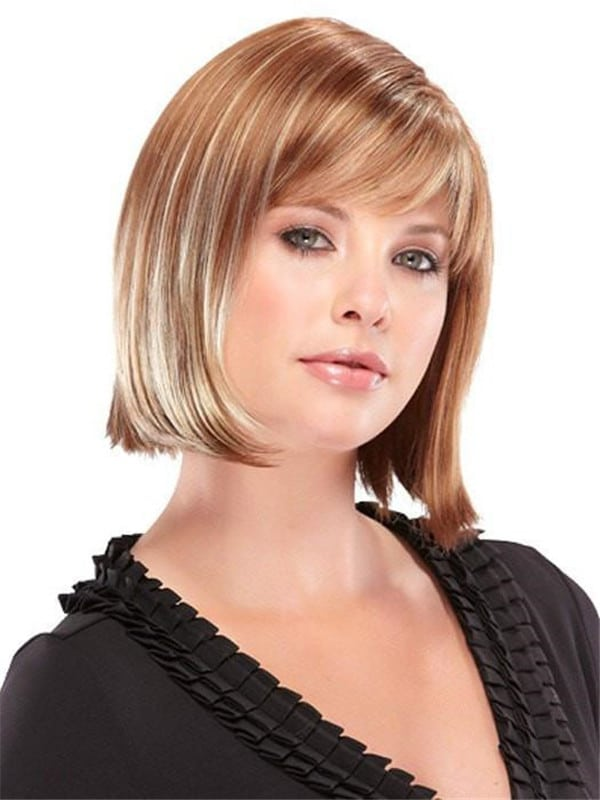Red Blair Synthetic Wig Basic Cap