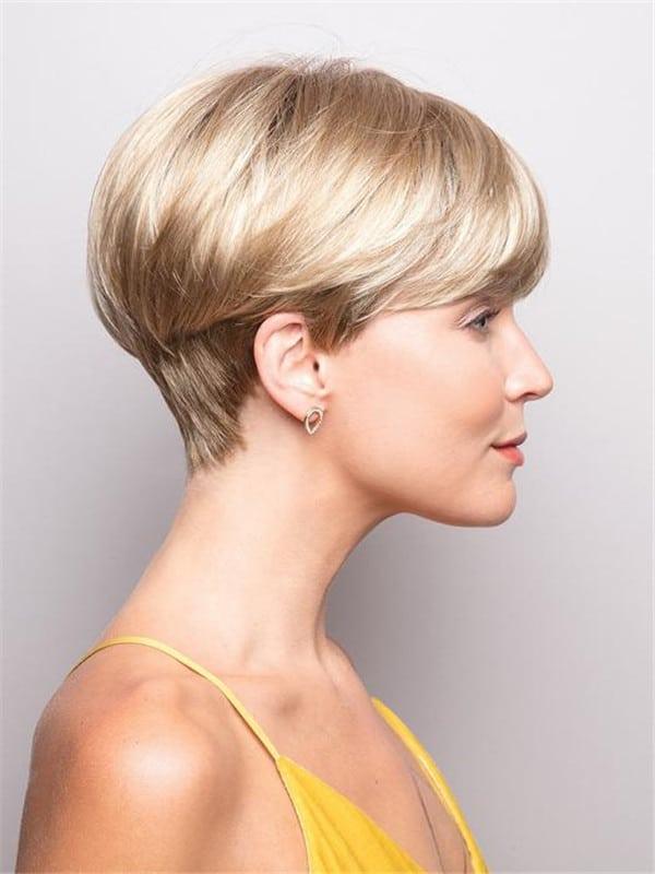 Blonde Brunette Blake Synthetic Wig Basic Cap