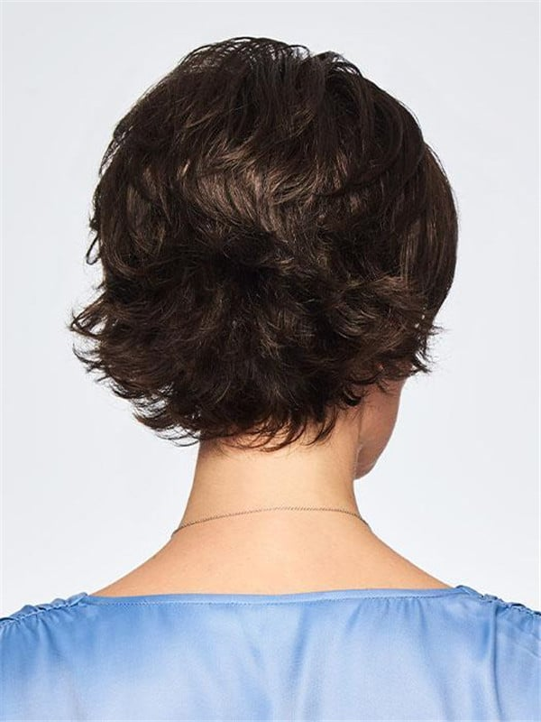 Black Boost Short Synthetic Wig Basic Cap