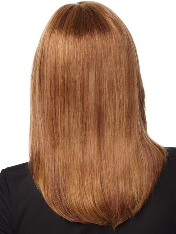 Blonde Human Hair Lace Front Wig Hand-Tied