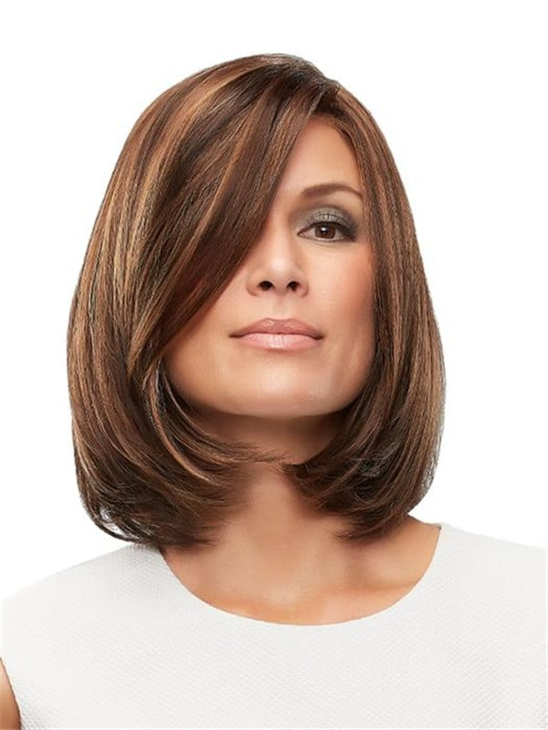 Blonde Brunette Synthetic Lace Front Wig HT