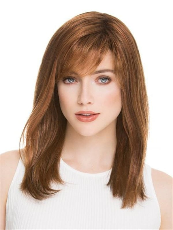 Red Carrie Synthetic Wig Mono Crown