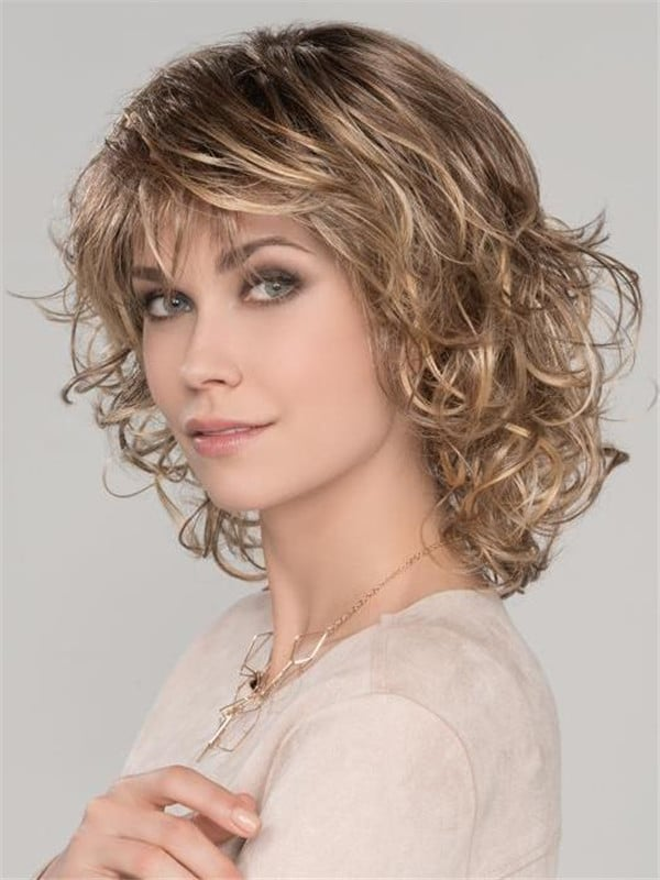 Blonde Cat Synthetic Wig Mono Crown