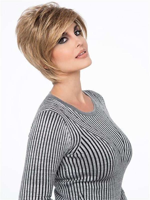 Blonde Lace Front Wigs Chantel Synthetic Wig Basic Cap
