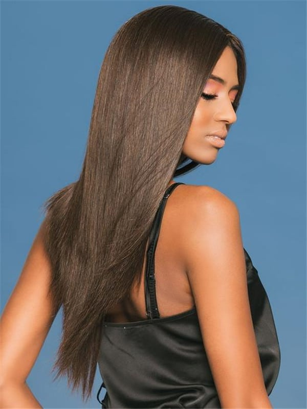 Christina Human Hair Lace Front Wig Monofilament For Women