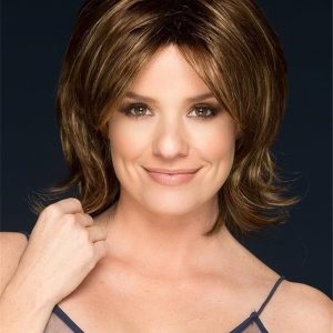 Claire Synthetic Wig Basic Cap Rooted For Women