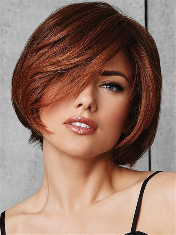 Red Classic Fling Heat Friendly Synthetic Wig