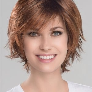 Brunette Synthetic Lace Front Wig Rooted For Women