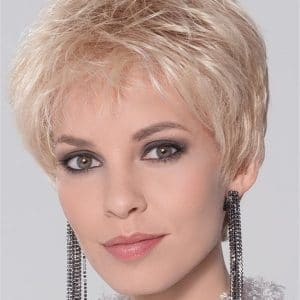 Gray Coco Synthetic Lace Front Wig