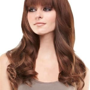 Bangs & Fringes Remy Human Hair Topper Mono Part