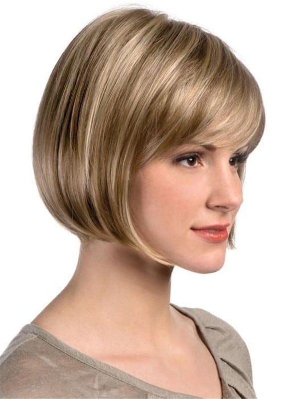 Blonde Brunette Ellen Synthetic Wig Basic Cap