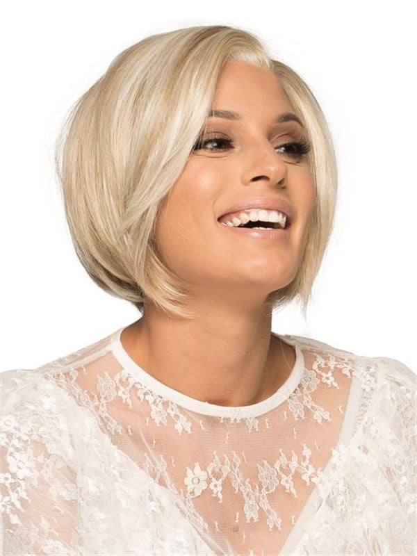 Gray Eve Synthetic Lace Front Wig Mono Part