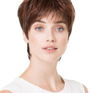 Gray Fair Mono Synthetic Lace Front Wig Mono Top