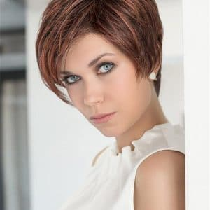 Blonde And Gray Synthetic Lace Front Wig Hand-tied Pixie