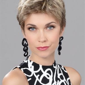 Blonde Human Synthetic Hair Blend Lace Front Wig Mono Top New Arrivals