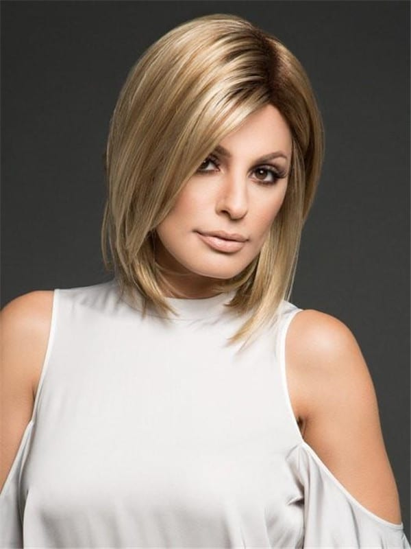 Blonde Hailey Synthetic Wig Basic Cap