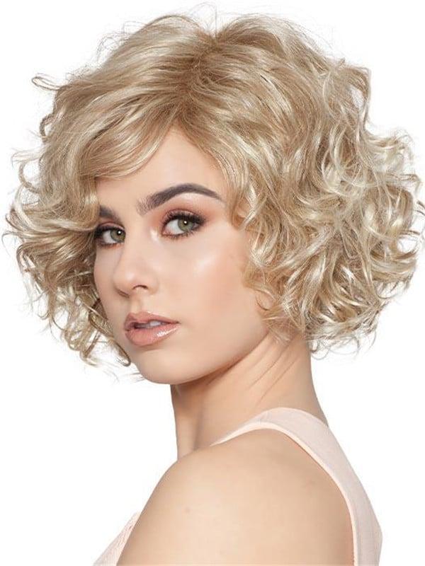 Black Women's Brunette Synthetic Wig
