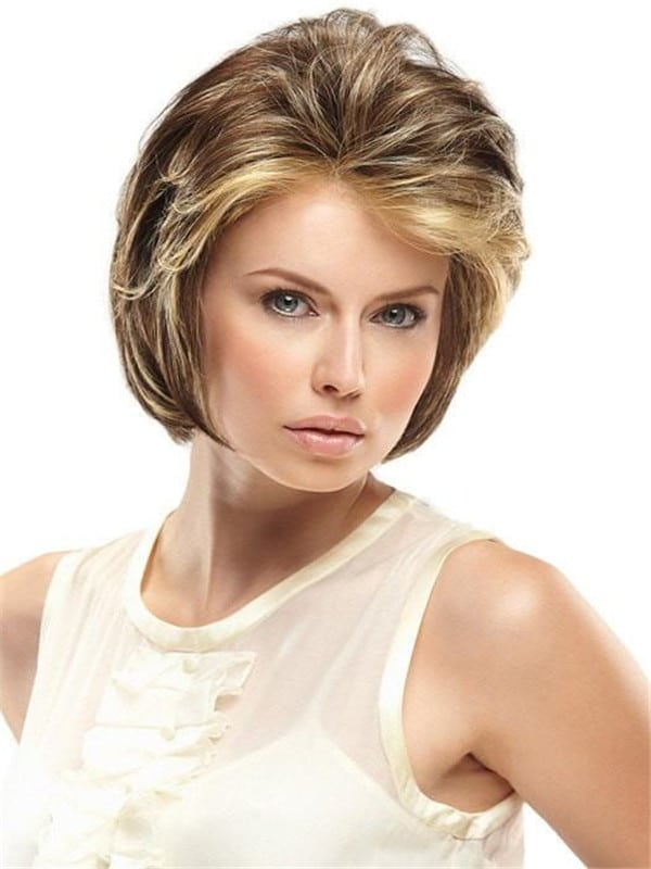 Red Hillary Synthetic Lace Front Wig Basic Cap
