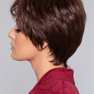 Black Hot Synthetic Wig Mono Crown