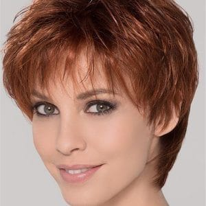 Gray Ivy Synthetic Lace Front Wig Mono Crown