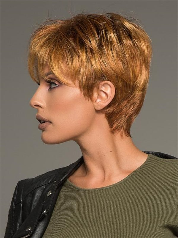 Black Jazz Lace Front Synthetic Wig Mono Crown