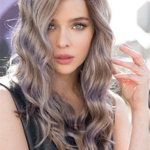 Gray Layla Synthetic Lace Front Wig