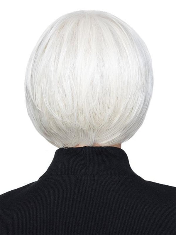 Blonde And Black Synthetic Lace Front Wig Rooted For Women