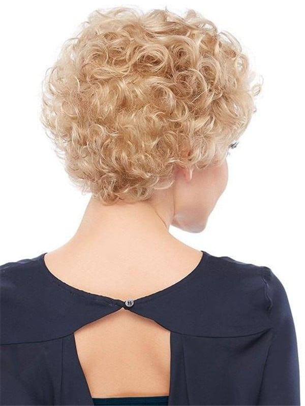 Blonde Lily Synthetic Wig Basic Cap