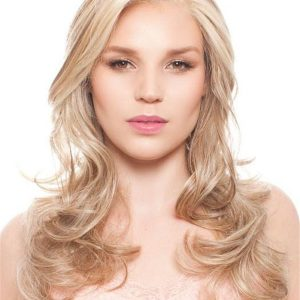 Red And Blonde Limelight Synthetic Lace Front Wig For Women