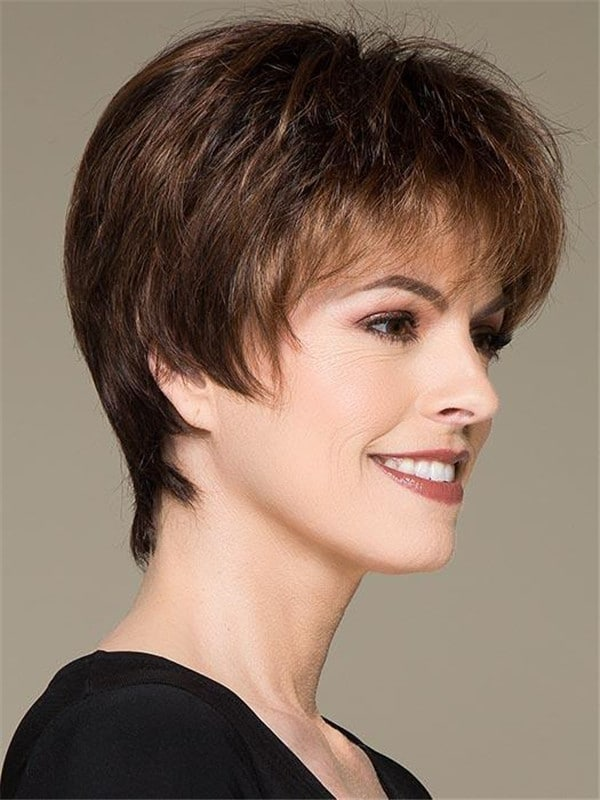 Gray Love Comfort Synthetic Lace Front Wig
