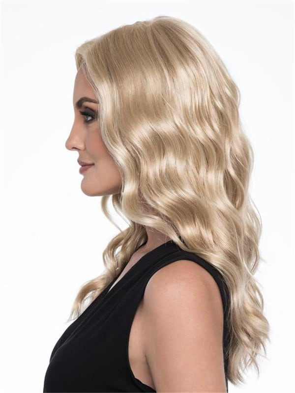 Black Maya Synthetic Lace Front Wig Mono Top