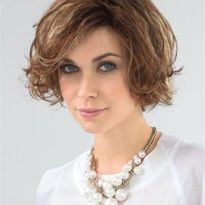 Wavy Movie Synthetic Lace Front Wig for Women