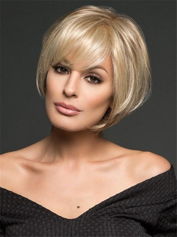 Blonde Gray Muse Synthetic Lace Front Wig For Women