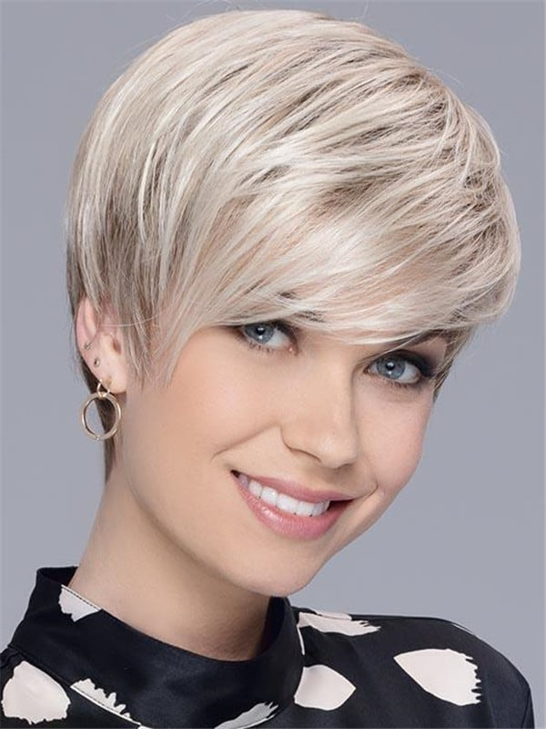 Red New Arrivals Synthetic Wig Rooted For Women