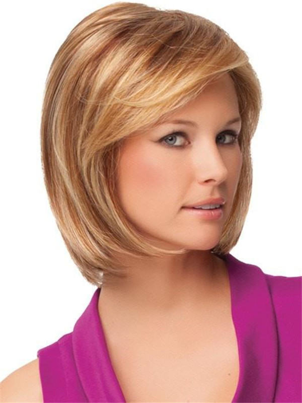 Red And Blonde Paradox Synthetic Lace Front Wig For Women