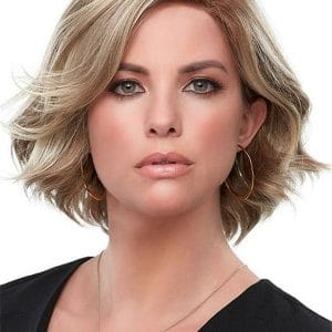 Red Parker Synthetic Lace Front Wig Mono Part