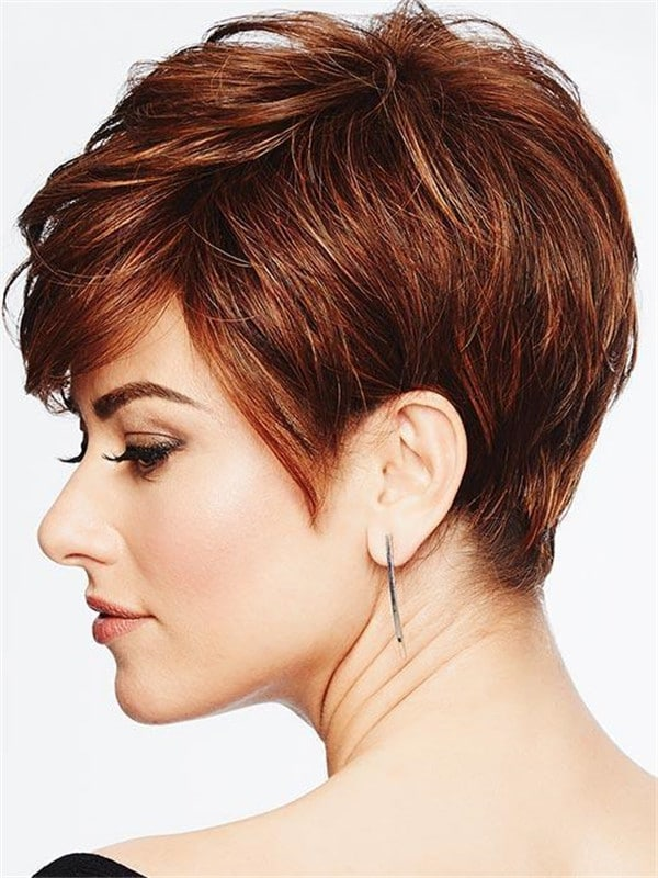 Red Perfect Pixie Heat Friendly Synthetic Wig