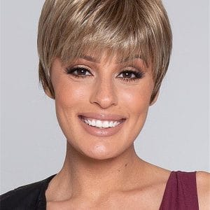 Blonde Synthetic Wig Mono Crown