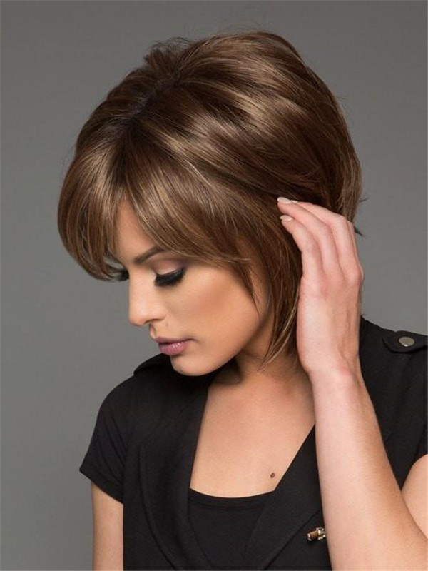 Rooted Colors Synthetic Wig Basic Cap For Women