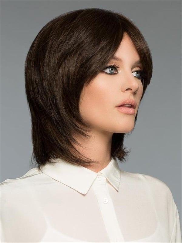 Layered Savvy Human Hair Wig For Women