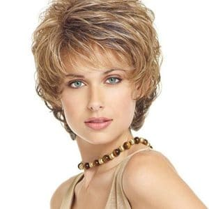 Blonde Sensation Synthetic Wig Basic Cap