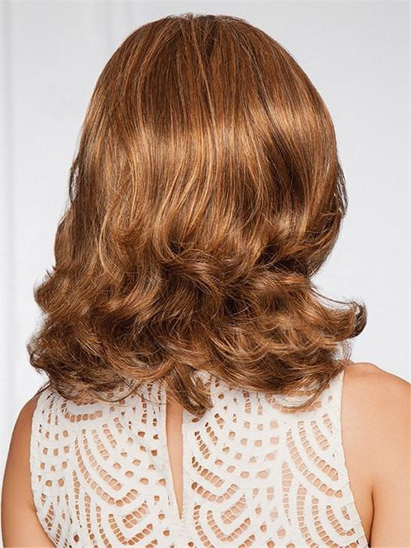 Red And Blonde Socialite Synthetic Lace Front Wig For Women