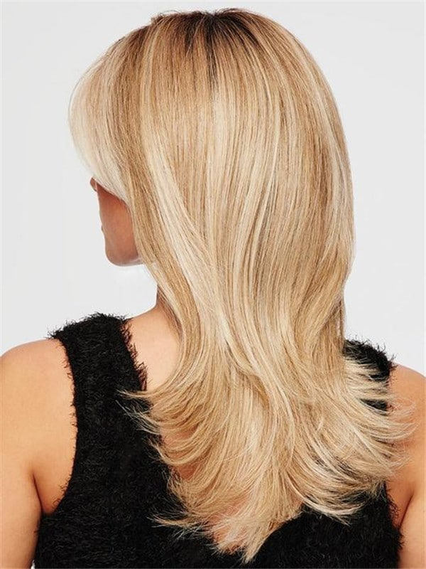 Blonde Hf Synthetic Lace Front Wig Mono Top