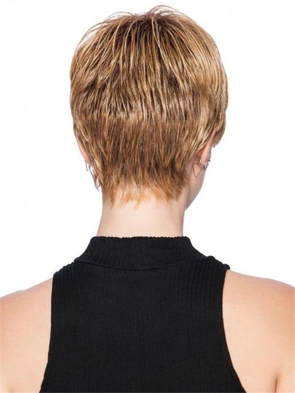 Gray HF Synthetic Wig Basic Cap
