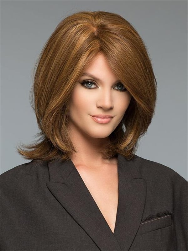 Blonde Tiffany Remy Human Hair Wig Hand-Tied