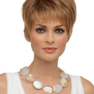 Blonde Tiffany Synthetic Wig Basic Cap