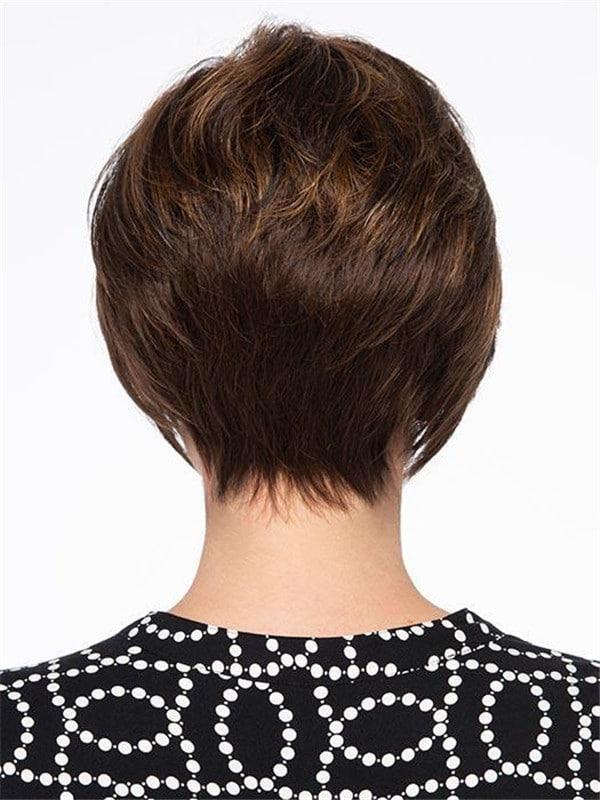 Black Monofilament Synthetic Lace Front Wig Mono Part