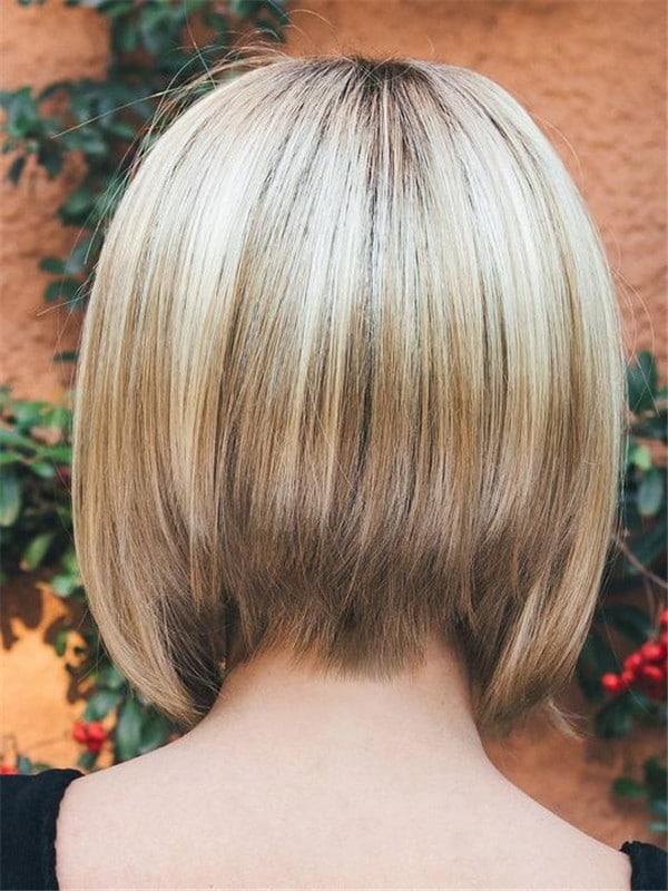 Blonde Tori Short Synthetic Wig Basic Cap