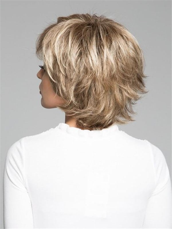 Black Trend Setter Synthetic Wig Basic Cap