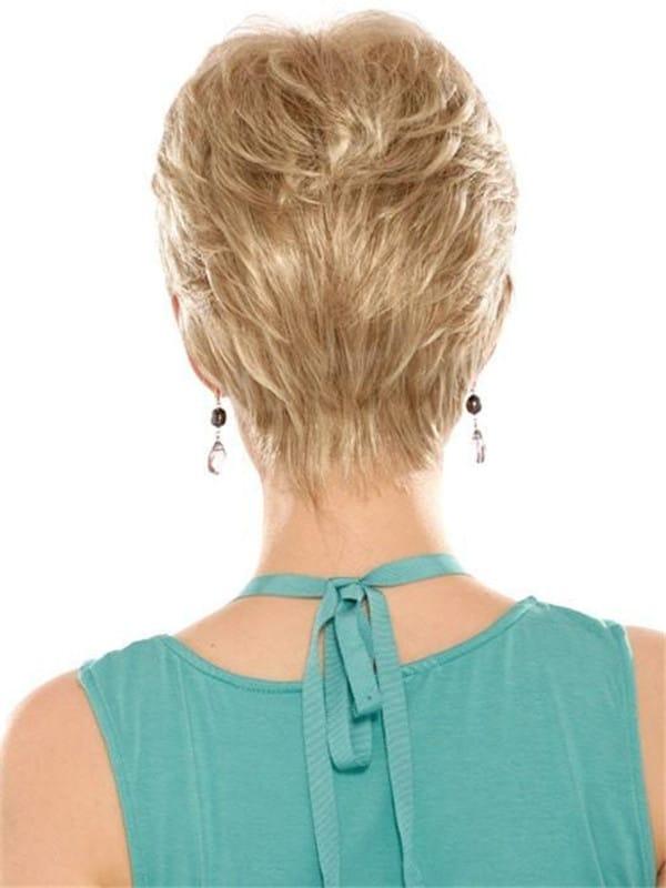 Black Brunette Vikki Synthetic Wig Basic Cap